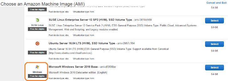 Hướng dẫn đăng ký Amazon vps miễn phí